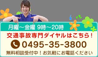 電話番号0495-35-3800